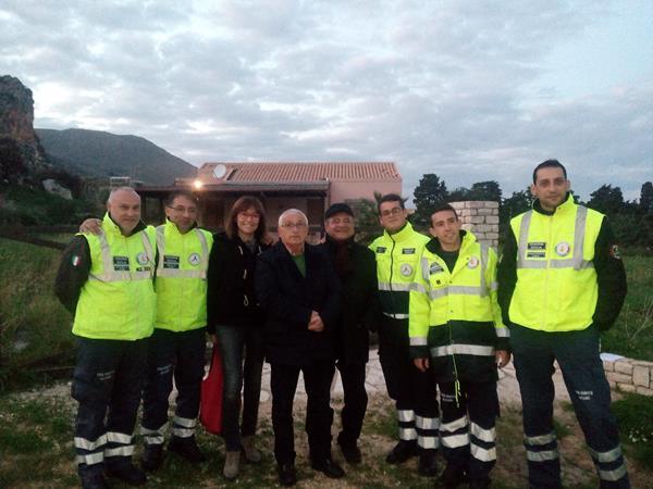 Castellammare, una villetta sequestrata alla mafia utilizzata dal comune per i servizi di protezione civile