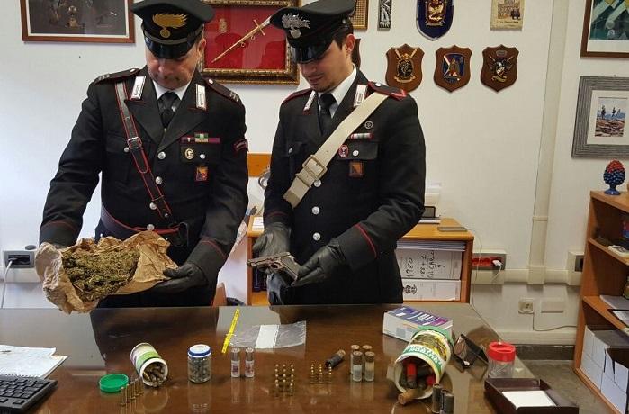 Mafia, droga, armi e cartucce in un casolare di San Giuseppe Jato
