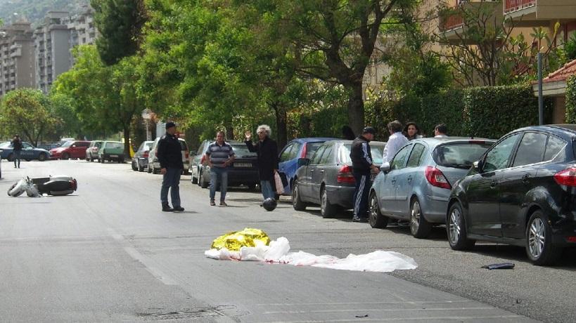 Ragazzo travolto e ucciso, le immagini da via dei Fiori a Palermo