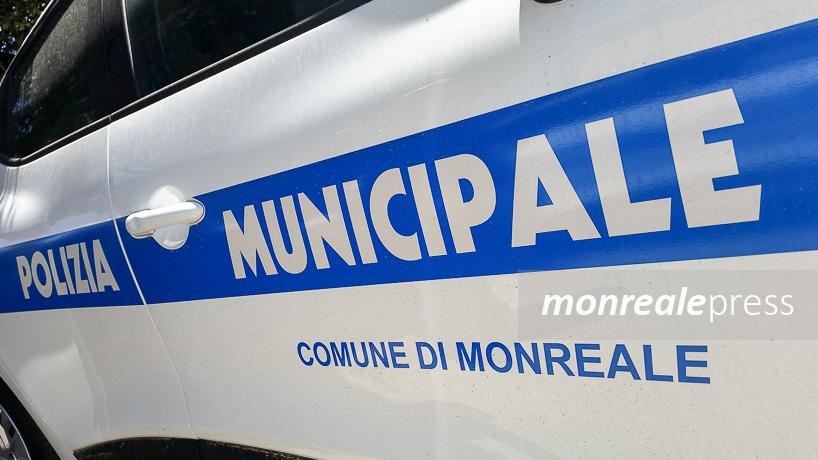 Polizia Municipale a Monreale, mille multe in 4 mesi: meno di dieci al giorno