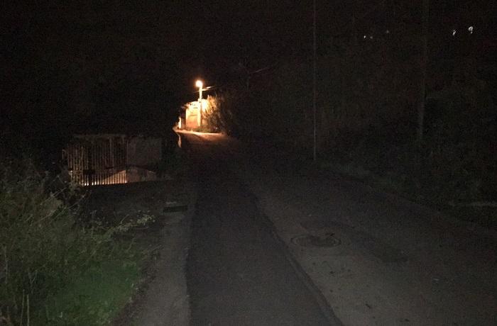 Il buio che avanza, anche via Linea Ferrata senza luce