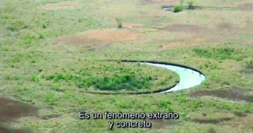 Argentina, il mistero dell'isola che ruota su se stessa