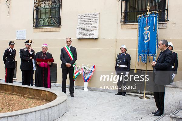 """Monreale ricorda il """"suo"""" capitano Mario D'Aleo"""