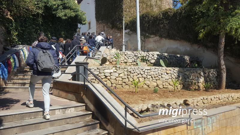 Monreale, la scalinata di via Torres si rifà il look: via ai lavori