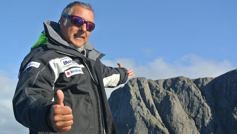 Sergio Davì, lo skipper monrealese che sfida l'Oceano
