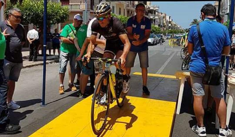 Ciclismo, il monrealese Filippo Noto rientra dopo un infortunio: e vince due gare in due giorni