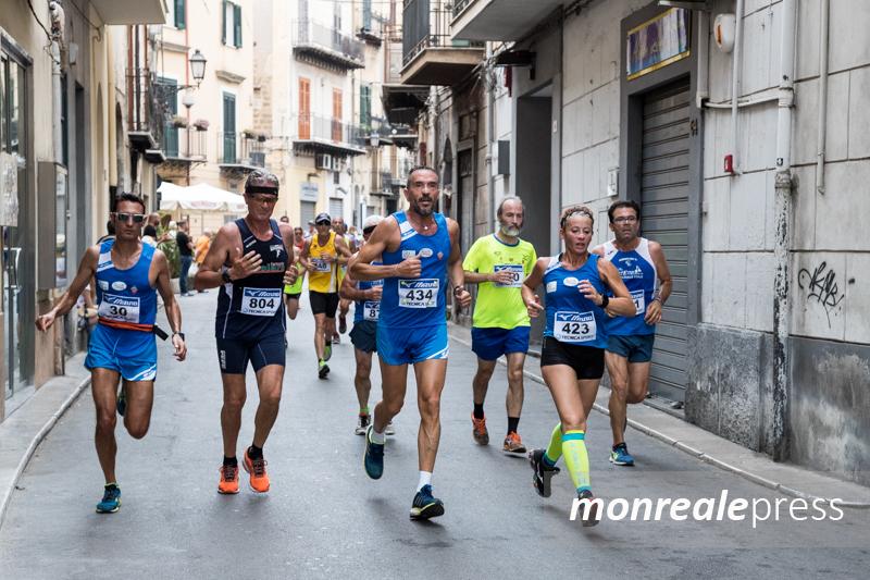 """Oltre 350 iscritti al """"Trofeo città di Monreale"""": anche un """"giovane"""" 86enne"""