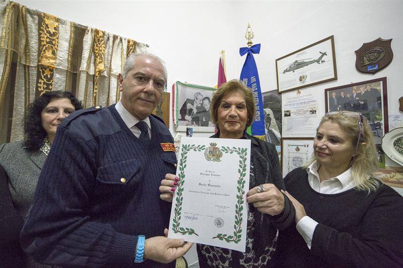 Monreale, Pina Catalano socio onorario dell'associazione nazionale Polizia di Stato