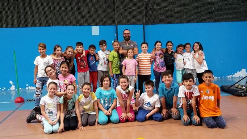 Una festa dello sport alla Veneziano: per i bambini il divertimento di una mini-olimpiade