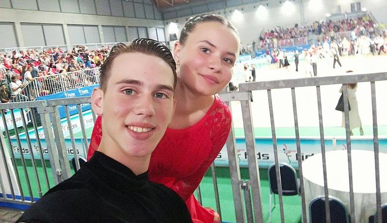 Campionati nazionali di danza sportiva, vincono due giovani di Altofonte