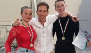 Anna Castellese, Ciccio Capodici e Salvatore Acquaviva