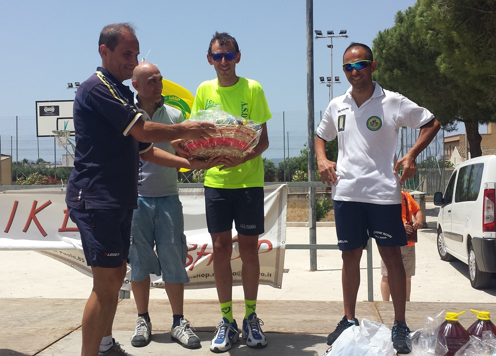 """Ciclismo, memorial """"Benivegna"""" a Trapani, vince l'atleta di Altofonte Filippo Sala"""