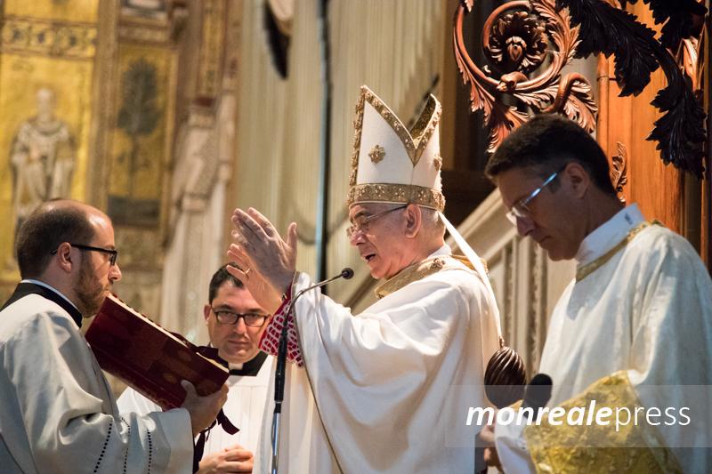 """Monreale, monsignor Pennisi: """"Formare le coscienze per combattere mafia e corruzione"""""""