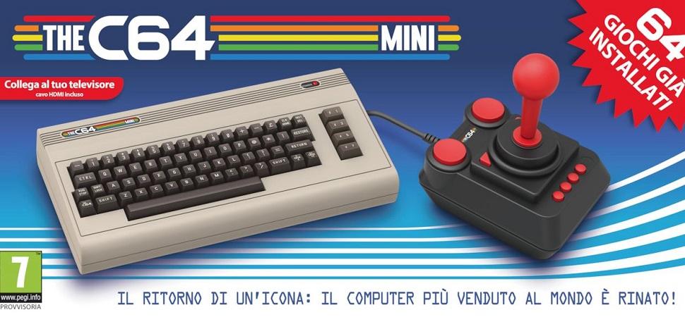 Dopo il Super Nintendo torna anche il Commodore 64, mito degli anni '80