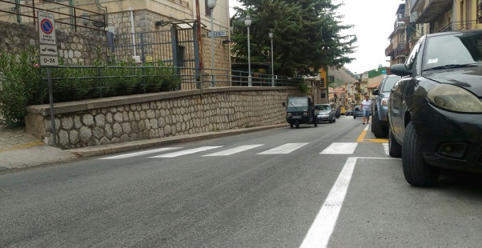 strisce stradale