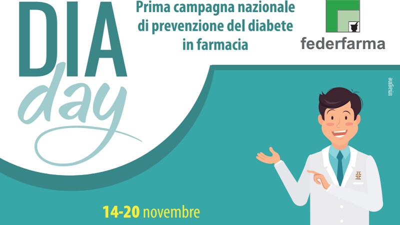 """""""DiaDay"""", anche a Monreale la campagna di prevenzione del diabete di Federfarma"""