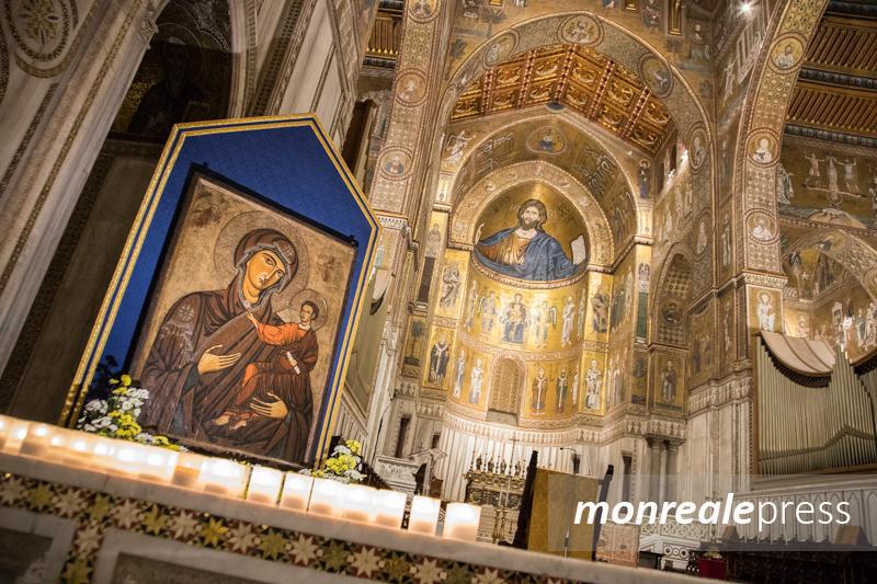 Il culto e l'iconografia della Madonna dell'Odigitria, se ne parla a Monreale