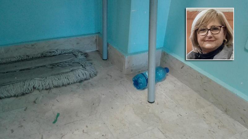 """Scuola di Aquino, la dirigente: """"Non è sporca"""". Ma si riserva di non concedere i locali alle Asd"""
