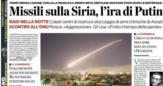 bombe sulla siria