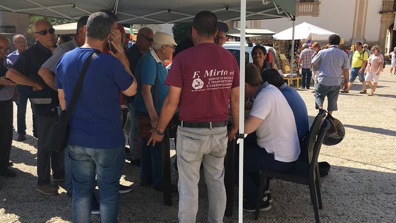 Raccolta differenziata: distribuzione dei mastelli anche a Villaciambra