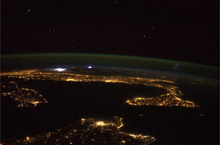 Parmitano, che foto dallo spazio