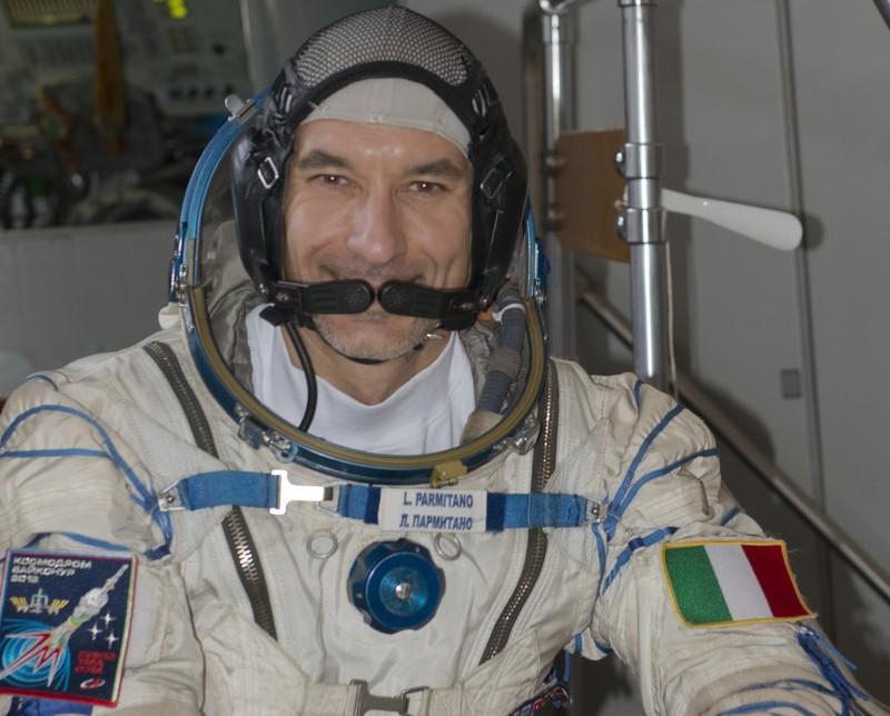 Un po' di Sicilia in orbita, Parmitano sbarca nella stazione spaziale