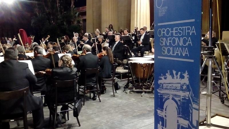 L'orchestra sinfonica siciliana torna in piazza: concerto il 20 luglio
