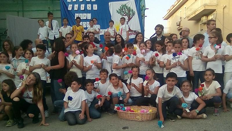 """""""Cento passi per non dimenticare"""", a Villaciambra si insegna la legalità"""