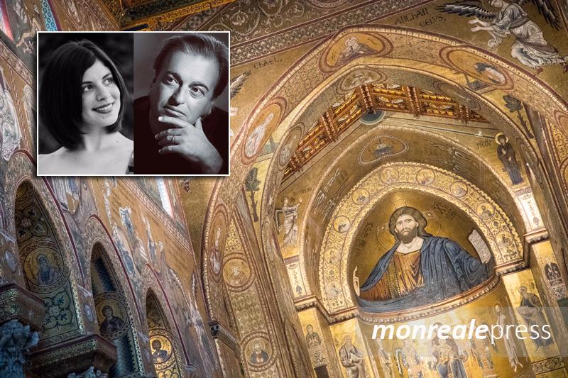 Monreale, Stephen e Silvia Vaglica con l'Orchestra Sinfonica in concerto al Duomo