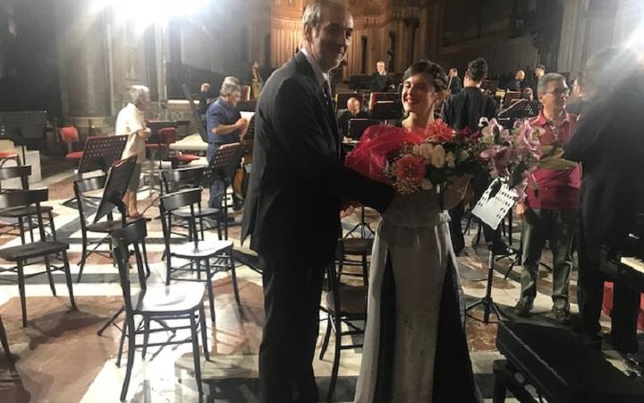 """Il concerto di Stephen e Silvia Vaglica al Duomo: """"Emozioni eterne"""""""