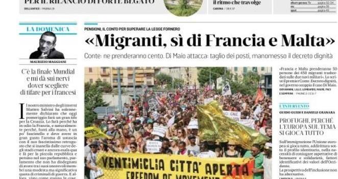 450 migranti