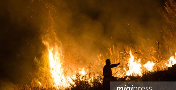 incendi nella notte straordinario