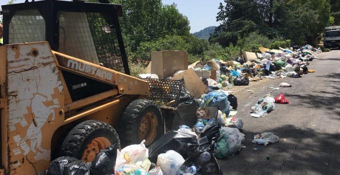 cumuli di rifiuti