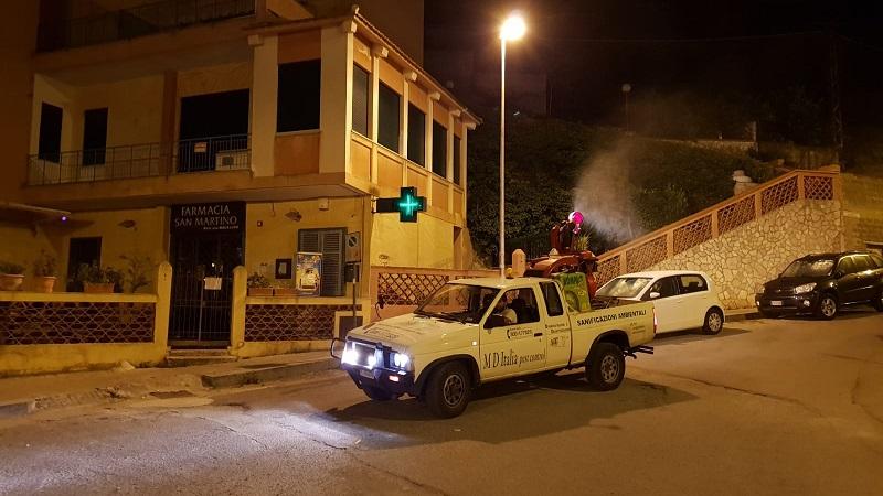 """Disinfestazione, interventi in """"notturna"""" a Pioppo e San Martino"""