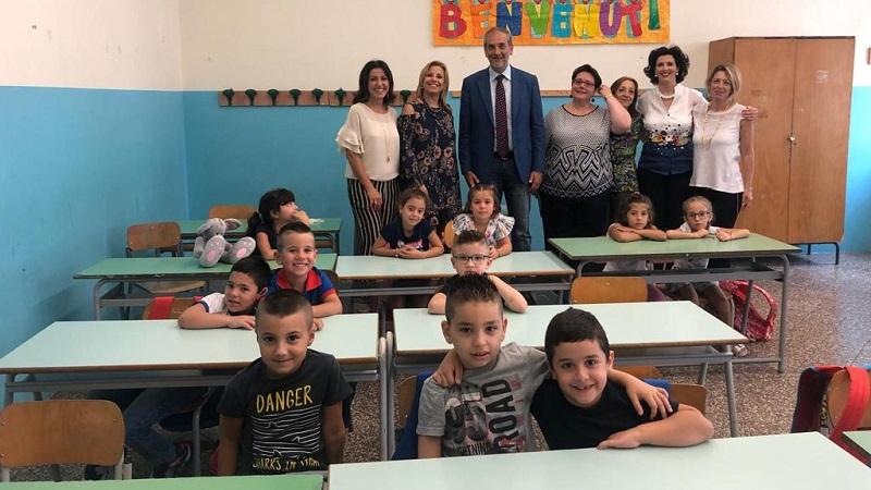 Monreale, si torna in classe; il saluto del sindaco Capizzi agli studenti