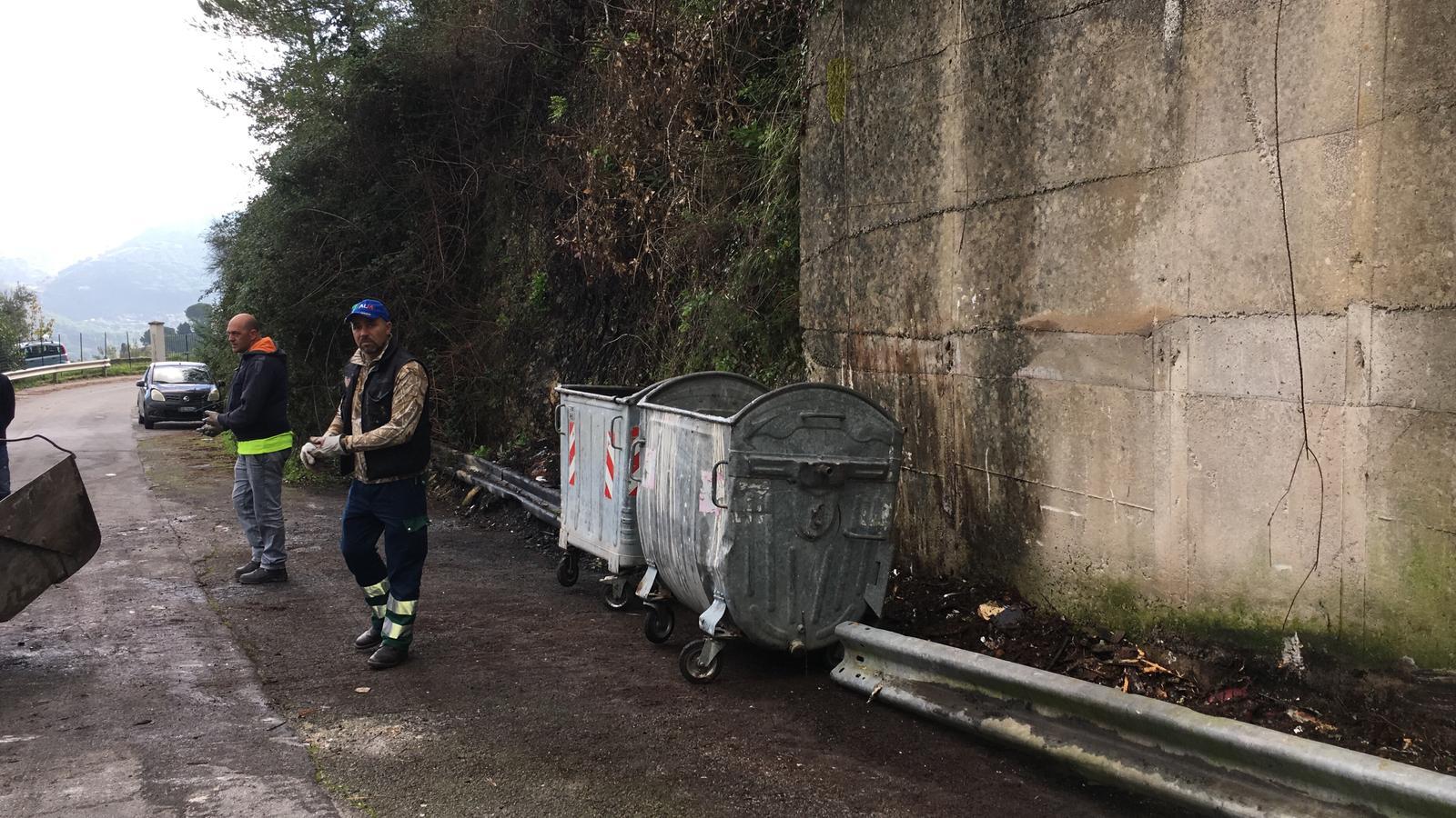 Villaggio Montano, la Mirto ripulisce ennesima discarica abusiva
