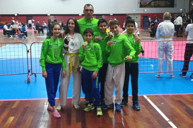 Campionati di taekwondo: sei medaglie per la Hwarang Sicilia. Due sono monrealesi