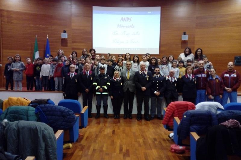 Il Questore Renato Cortese inaugura il ciclo di incontri dell'Anps di Monreale con gli studenti