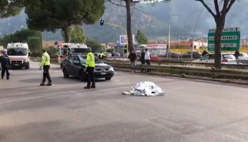 Tragico schianto in moto in viale Regione Siciliana: morto un uomo