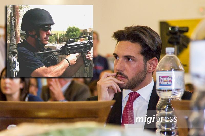 """Anniversario strage di Nassiriya, Marco ricorda il papà Domenico: """"Ha pagato l'amore per la Patria"""""""