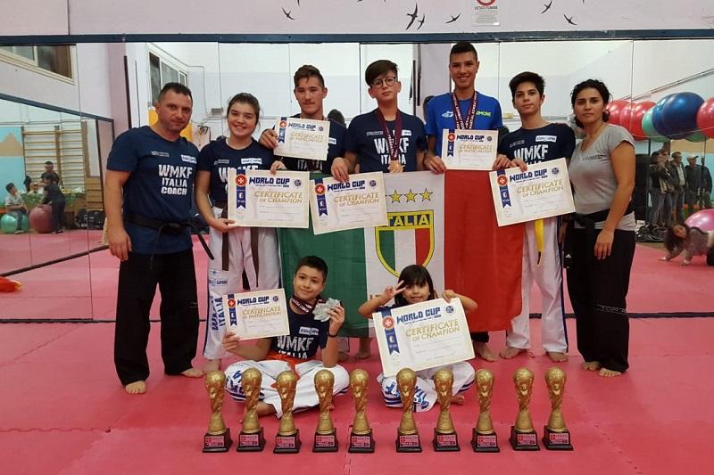 Mondiali di arti marziali, otto giovani atleti monrealesi trionfano a Malta