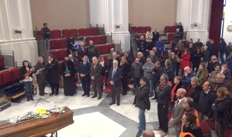 Palermo, l'ultimo saluto ad Aldo, il clochard ucciso domenica scorsa da un sedicenne