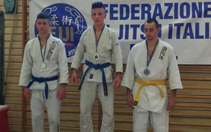 Coppa Italia di ju-jitsu: un'altra vittoria per i fratelli monrealesi Antonio e Nicolò Sciacca