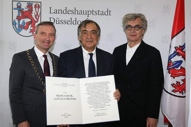 """Al sindaco Orlando il premio Heinrich-Heine: """"Per il suo impegno nel dialogo fra i popoli"""""""