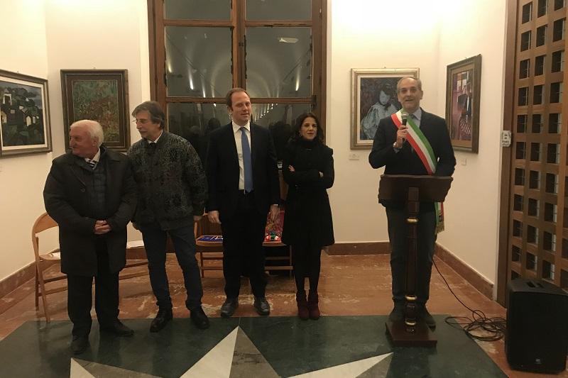 Monreale, il sindaco Capizzi inaugura il nuovo allestimento della Galleria Civica Sciortino