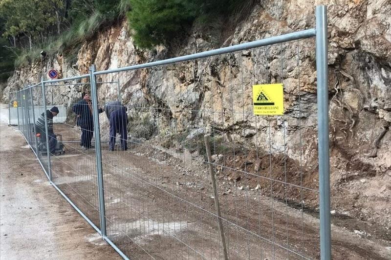 Boccadifalco, lavori a tempo di record: riapre via Ruffo di Calabria