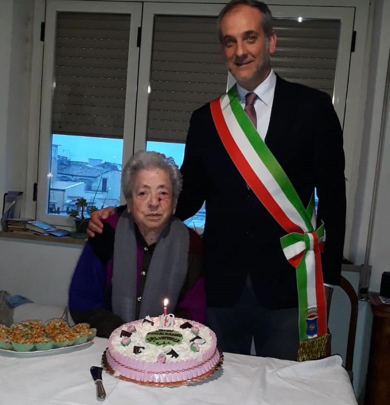 Monreale, buon compleanno nonna Salvatrice: e sono 103!