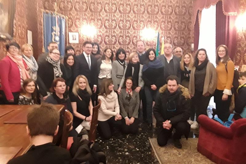 Erasmus, a Monreale studenti e docenti da Spagna, Portogallo, Polonia e Finlandia