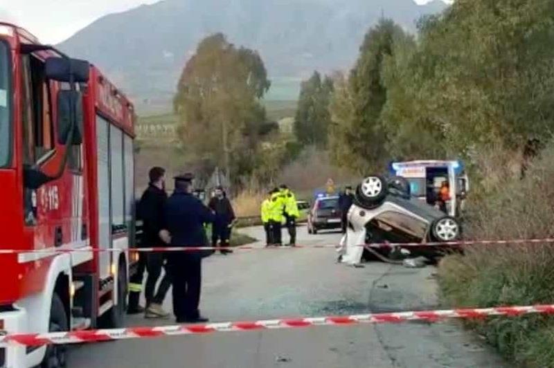 San Giuseppe Jato, perde il controllo dell'auto e si ribalta: morto un 63enne