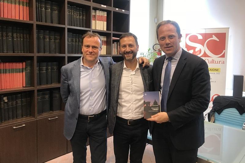 """Massimo Benenato a Monreale per presentare il suo romanzo """"Sotto le stelle di Roma"""""""